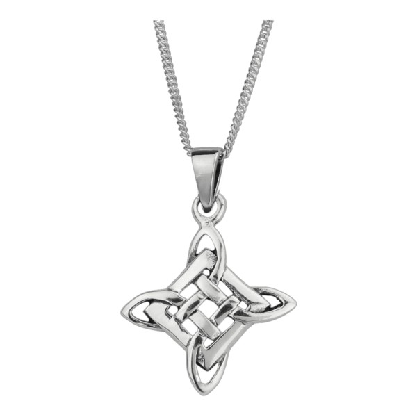 celtic interwoven knot pendant 0487 house of