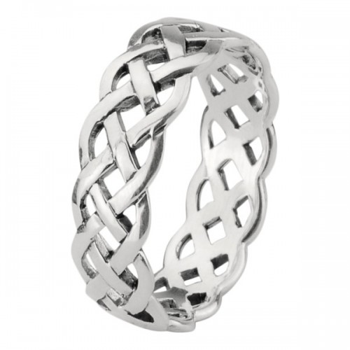 CELTIC SILVER PLATED RINGS