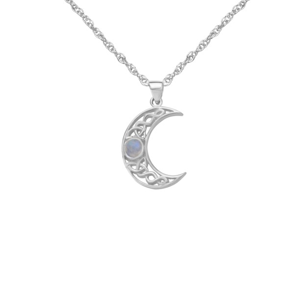 Celtic Crescent Pendant 9424