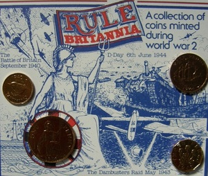 PRE-DECIMAL COIN COLLECTIONS: Rule Britannia