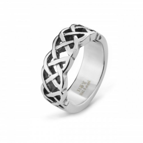 316L STAINLESS STEEL CELTIC RINGS